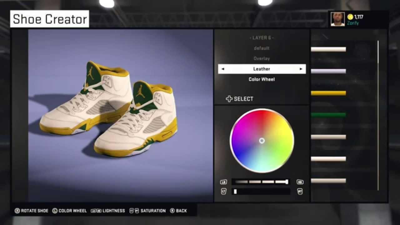 acd6d53ce03 NBA 2K15 Shoe Creator - Air Jordan 5 PE