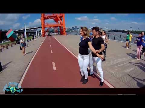 zouk flashmob 2017 shanghai TFE Dance Studio and AXE Dance Studio