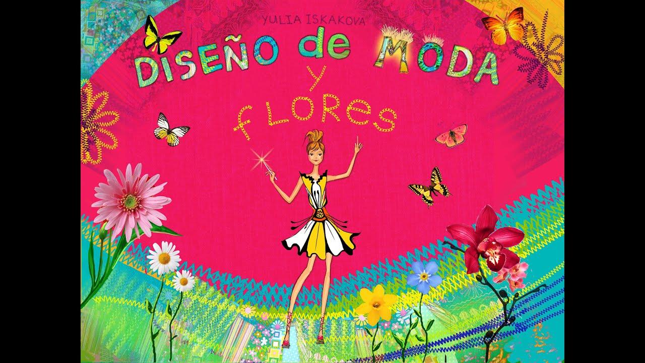 diseo de moda y flores juego de moda para nios