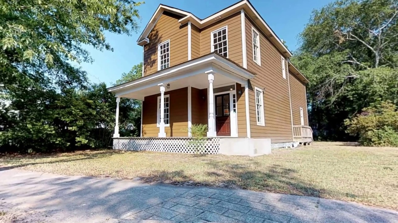 Historic homes for sale 416 N Salem in Sumter SC by Tyrone Brown