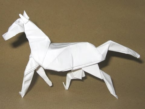 Origami Horse By David Brill Part 1 Of 4 Youtube