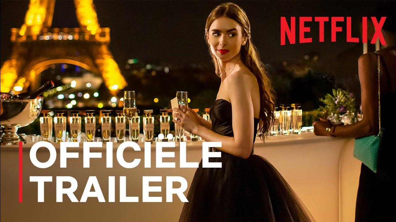Lily Collins in officiële Emily in Paris trailer op Netflix België