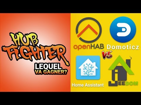HUB DOMOTIQUE : Le comparatif - Home Assistant - openHAB - Domoticz