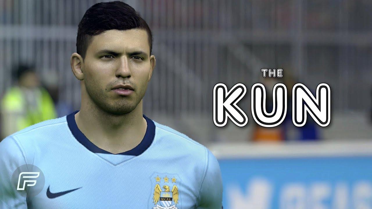 """Sergio Agüero """"The Kun"""" FIFA 15 Edit"""
