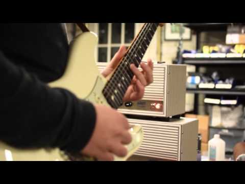 Dillan Witherow at Benson Amps With the Chimera and Tall Bird