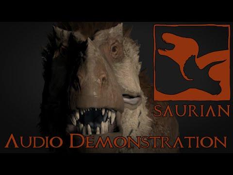 Saurian Tyrannosaurus Audio Demonstration