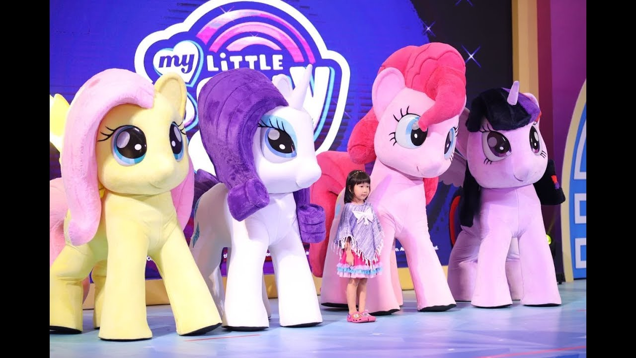 Live Show & Meet And Greet My Little Pony At Snowy Wonderville Lippo Mall  Puri