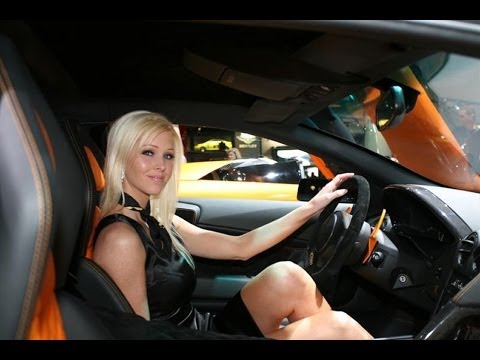 Sexy Hot Women Driving Cars 77