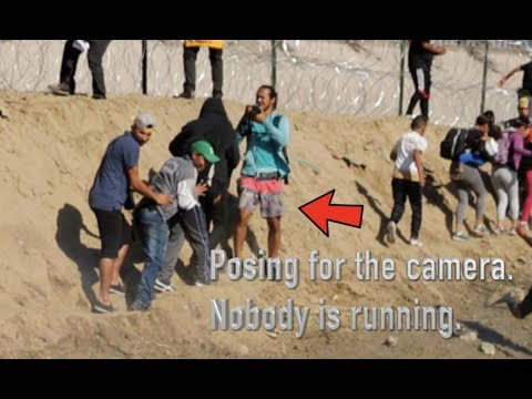 Women & Children Tear Gas At Border Picture Has STAGED Photo In It! Did You Notice?