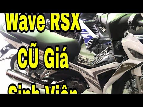 Bán Xe Wave RSX Cũ Giá Rẻ Sinh Viên - Chuyên Xe Cũ Tiền Giang