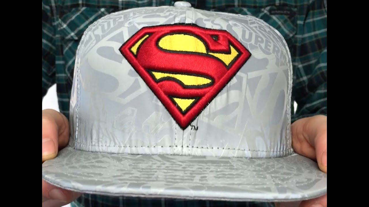 c7082af2498dd Superman 'COMIC REFLECT' Fitted Hat by New Era - YouTube