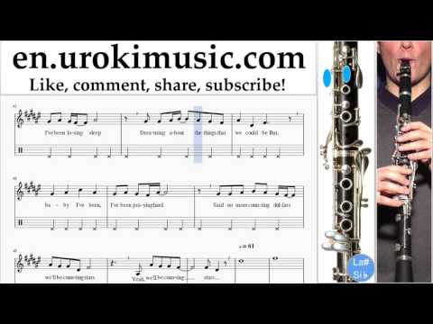 how-to-play-clarinet-onerepublic---counting-stars-part#2-melody-school-learn-class-course-tutorial