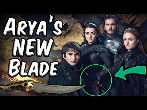 Arya Has A New Weapon... And It