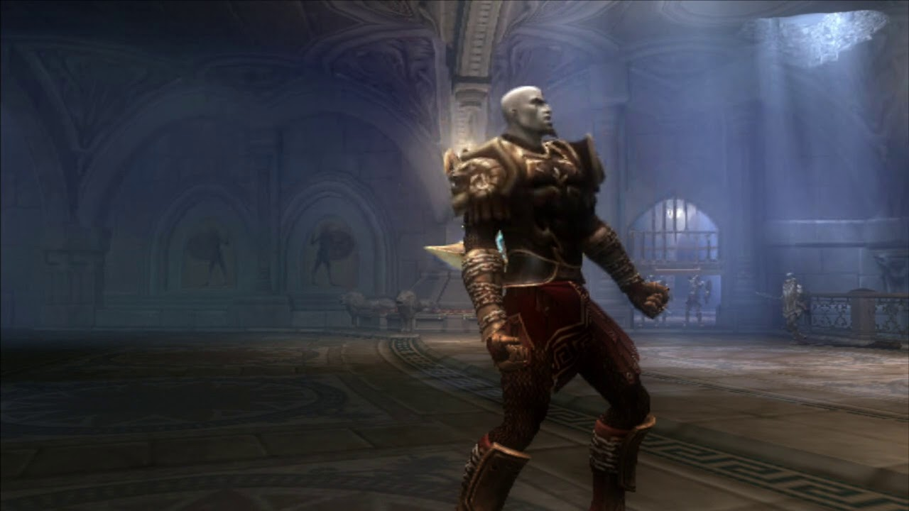 God of War 2 - PS2 PKG gameplay on PS4