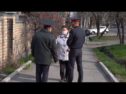 Режим ЧП в Бишкеке по коронавирусу. Не дальше 1,5 км от дома и штраф трое суток