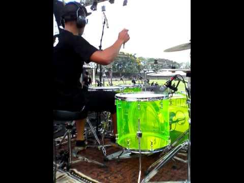 Ari soekamti with smdc drum kit
