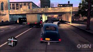 LA Noire - Car Chase Gameplay
