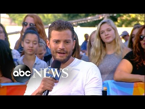 Fifty Shades of Grey Star Jamie Dornan Interview