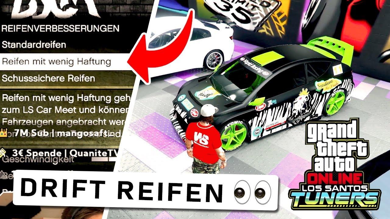 Geheime DRIFT REIFEN freischalten! - GTA 5 Los Santos Tuners
