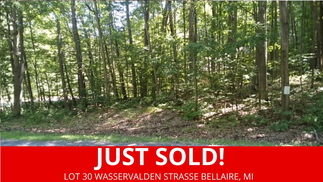 Sold By www.WeSellNewYorkLand.com Lot 30 Wasservalden Strasse Bellaire, MI - Michigan Land For Sale