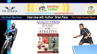 "Brian Pace Book Release ""Juicing for Athletes"" HD"