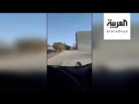 مشاهد توثق هجوم الجيش الليبي على مقر قيادة لكتائب الوفاق  - نشر قبل 4 ساعة