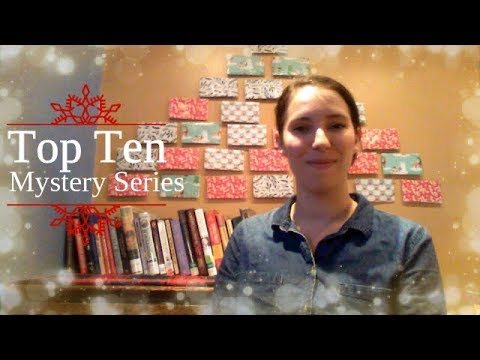 My Top Ten Mystery Series I Vlogmas Day 18