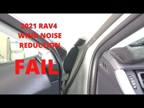 2021 RAV4 Wind Noise Fix