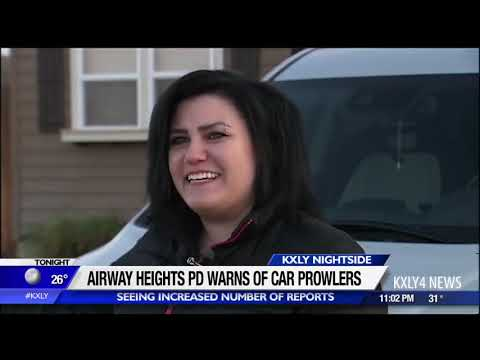 Airway Heights PD seeing uptick in car prowls