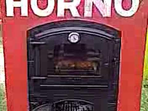 Hornos hierro fundido estufas a le a youtube for Horno de hierro fundido