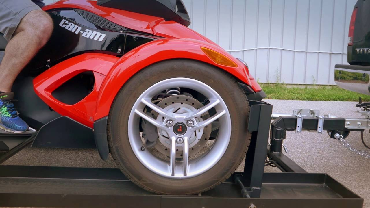 Can       Am       Spyder       Trailer    by Stingertrailer  YouTube