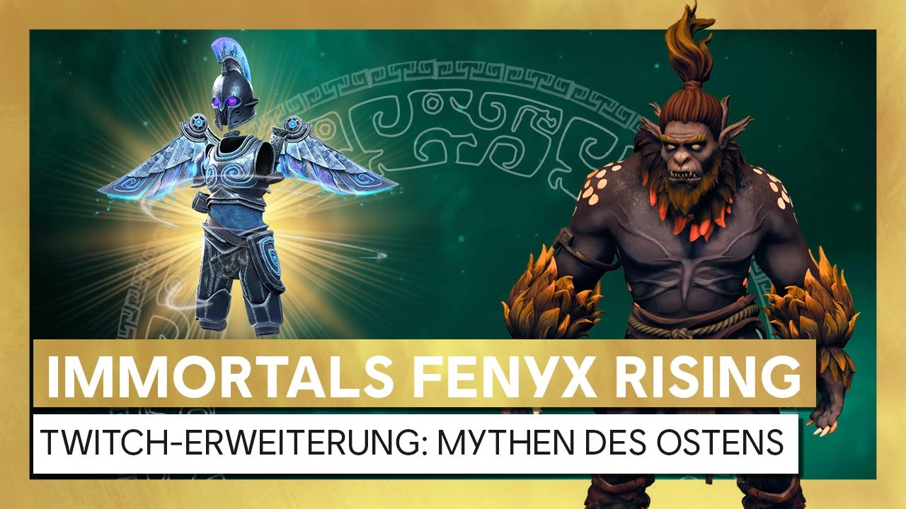 Immortals Fenyx Rising - Monster Hunt Twitch-Erweiterung: Mythen des Ostens | Ubisoft