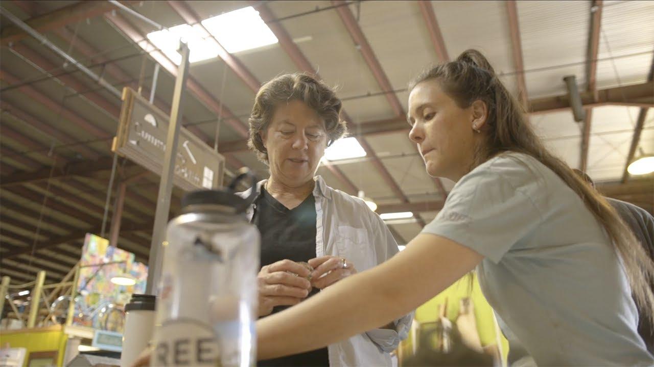 Ebay Shine Award Winner Charitable Business Nancy Meyer Of Community Forklift Youtube