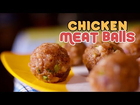 Yummy Chicken MeatBalls   Easy and Fast Recipe