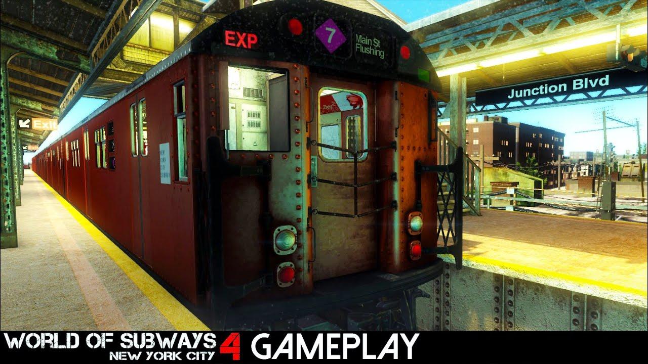 World Of Subways 4 New York Line 7 Gameplay Pc Hd Youtube