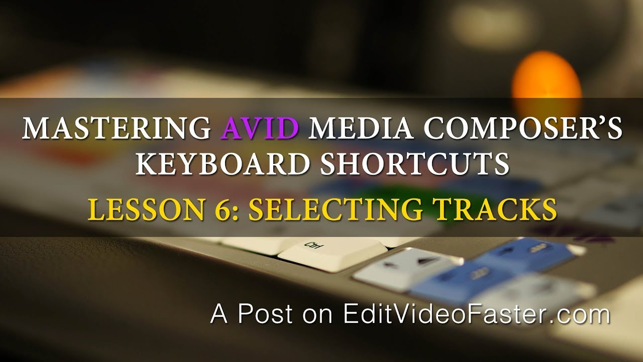 Learn media composer lesson 25: the basic audio mix part 1: avid.
