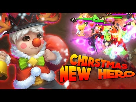 Castle Clash New Hero LiL Nick And New Pet Yulephant! (Sneak Peek) Review