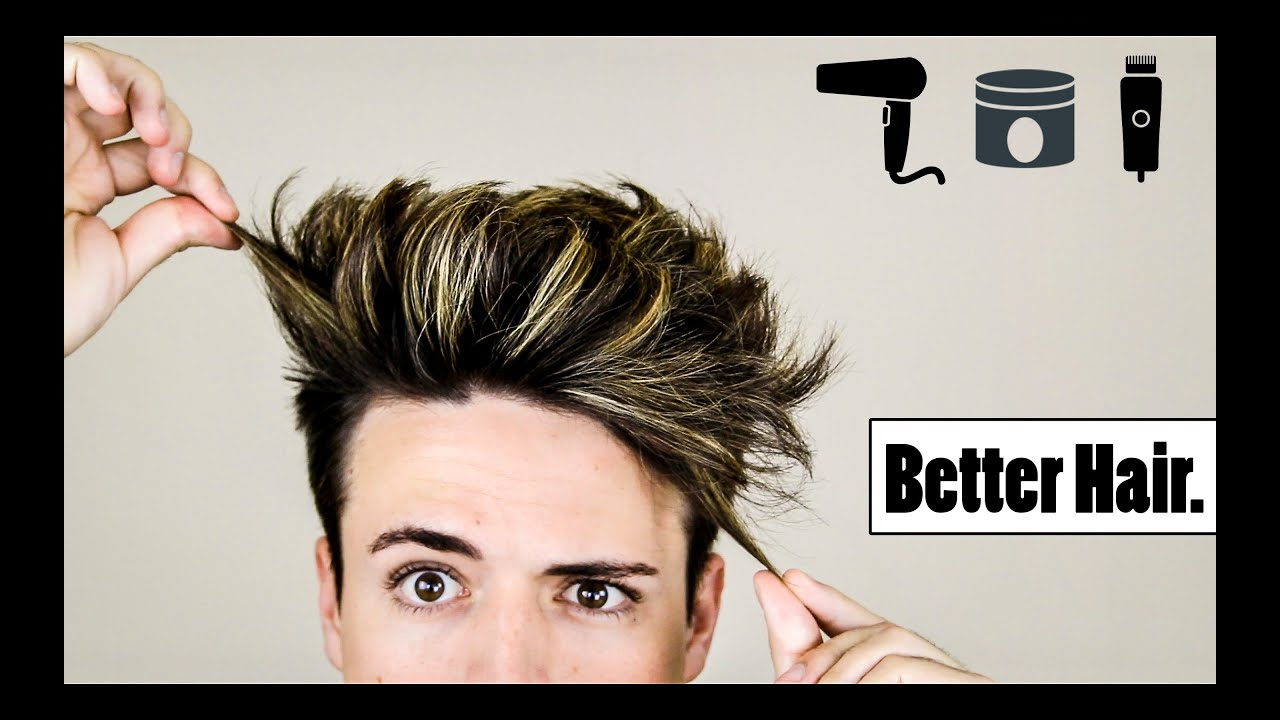 4 Mens Hair Hacks To Make Your Hairstyle BETTER YouTube