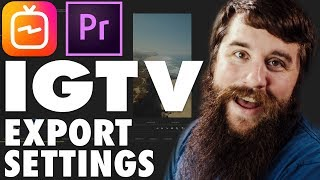Video How to Edit & Export High Quality Instagram TV (IGTV) Videos using Premiere Pro download MP3, 3GP, MP4, WEBM, AVI, FLV Oktober 2018