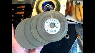 Алмазные и войлочные диски с Алиэкспресс! Обзор! Тест!
