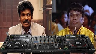 Goundamani Senthil comedy with new Style and DJ. The old wine in new bottle.