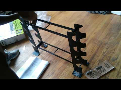 Unboxing and Building my Marcy Multiple Dumbbell Rack