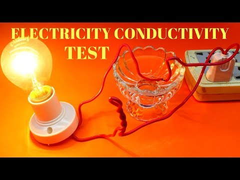 How To Test Electric Conductivity Using Water - Electric Conductivity Science Experiment