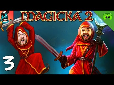 MAGICKA 2 # 3 - Icki sticki lucki «» Let's Play Magicka 2 Together | Full HD Gameplay