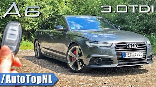 Audi A6 C7 Competition 3.0 BiTDI REVIEW on AUTOBAHN [NO SPEED LIMIT] by AutoTopNL