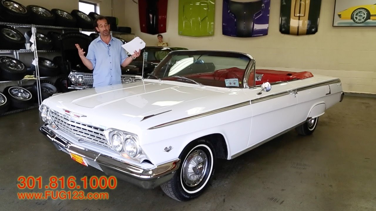 1962 Chevrolet Impala Super Sport for sale with test drive, driving
