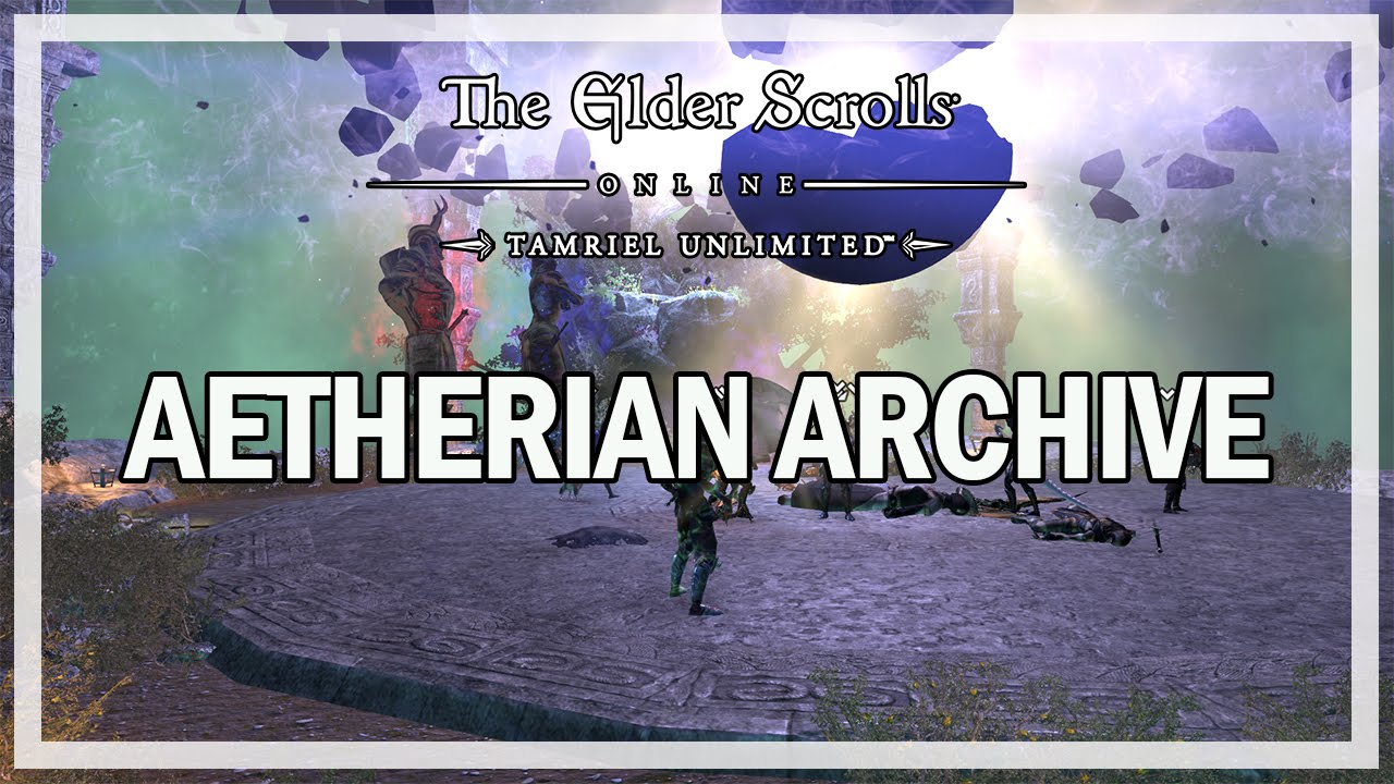 The Elder Scrolls Online - AETHERIAN ARCHIVE TRIAL - Fast Run Gameplay
