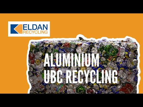 Recycling of used beverage cans (aluminium cans, UBC)