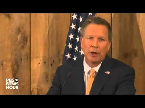 John Kasich drops out of 2016 presidential race   YouTube