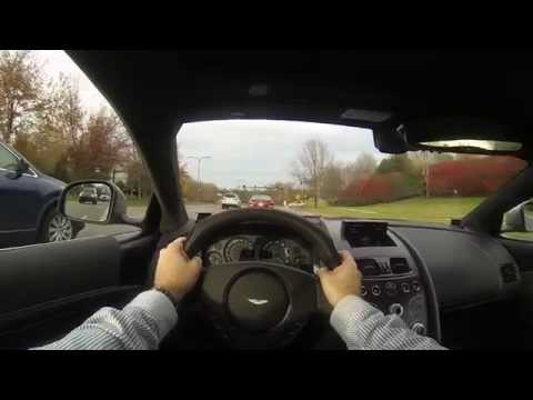2016 Aston Martin DB9 GT Bond Edition POV Test Drive